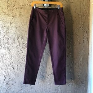 LULULEMON City Trek Trouser Bordeaux Size 4